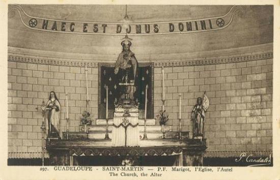 Cartes postales anciennes de Saint Martin